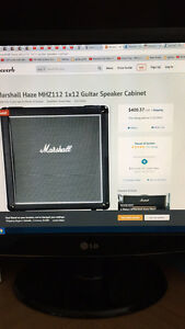 Marshall Haze 1x12 Cab and Fender Bullet Reverb Head West Island Greater Montréal image 7