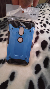 Brand new case for Motorola G4 Play.  (Unisex color)