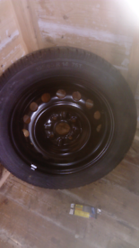 C1, 107, Aygo wheels and tyres.
