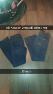 Womens size 2-4 Jeans, shorts, jeggings