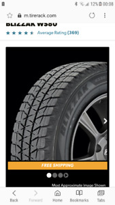 Looking for 1 Bridgestone Blizzak 265 70 17.