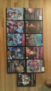 Ps2 rpg, lot jeux,ps1 final fantasy 7-8-9