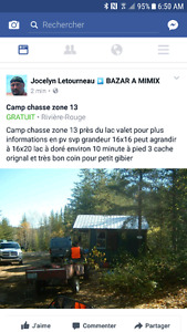 Camp chassé zone 13