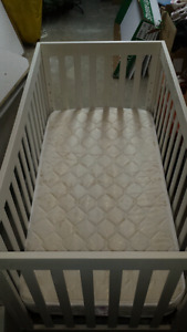 Baby's  crib/day bed and mint condition mattress