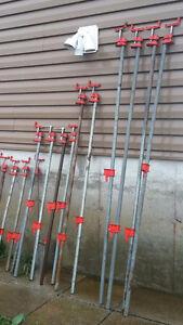 "Woodworking bar clamps 3/4"" Peterborough Peterborough Area image 1"