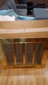 Solid Brass Fireplace Screen-$150 OBO