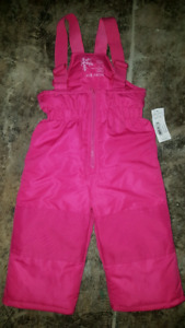 1yr pink snowpants. New.