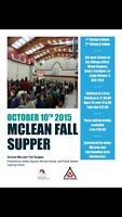 McLean fall supper