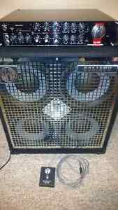 Like New Bass Amp and Cab (SWR SM 900 and Goliath II 4x10)
