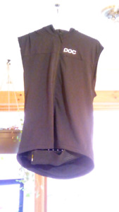 Back Protector vest with zipper