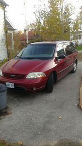 2003 Ford Windstar Minivan, Van London Ontario image 1