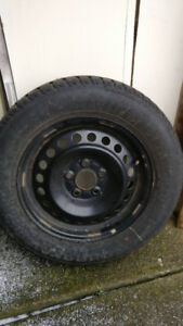 Tires and Rims used only for 1 winter