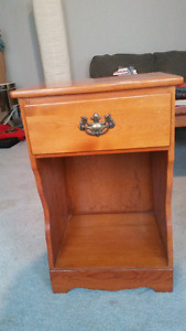 Bed side dresser
