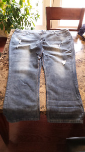 Selection of Ladies size 5x jeans