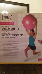 Ballon pour faire exercice