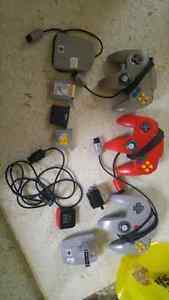 N64 with a bunch of games and accessories Stratford Kitchener Area image 6