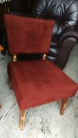 Vintage Slipper Accent Chair