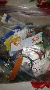 Bag of jewelry and creative jewelry supplies. All sorts. Kingston Kingston Area image 5