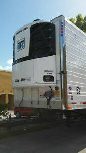 5 REEFER TRAILERS FOR SALE