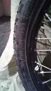 """2 Motorcycle front wheel 90/90-21 .54S New (21""""rim) West Island Greater Montréal image 4"""