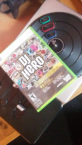 DJ Hero Game and Turntable controller