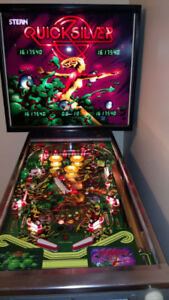 Looking for a quicksilver or sta  pinball machine. Any condition