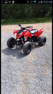 Looking to trade for 4xr four Wheeler