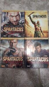 Série Spartacus collection complète blu-ray (anglais seulement)