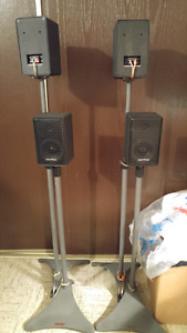 Centrios Speakers and Paradigm Subwoofer / Kenwood Amplifier