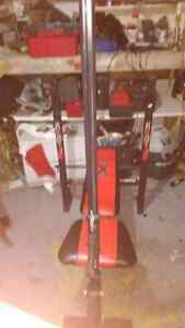 Weight bench and small weights