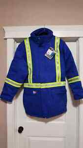 New Fire Resistant winter jacket size medium tall