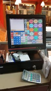 POS CASIO Qt-6600 avec tiroirs caisse et imprimante
