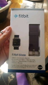 Purple Fitbit blaze band, gently used