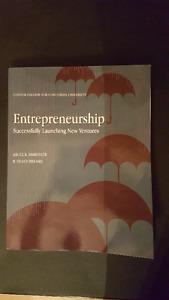 Entrepreneurship Book Concordia University