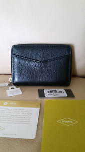 Fossil mini ziparound coin card case wallet