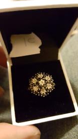 9ct gold ladies rings
