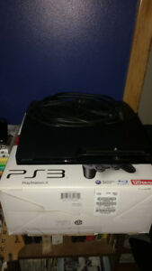 120GB PS3 Slim and Games