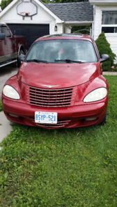 2004  Chrisler PT Cruiser  Limited,E TRADE FOR INFLATABLE BOAT