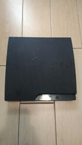 PS3 160 GB W/ 5 GAMES (NO CONTROLLERS)