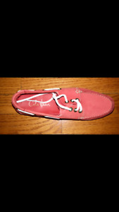 Cole Haan Boat Shoes. Red and White
