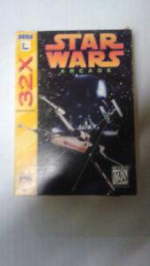 Sega 32x games $40 complete in box.