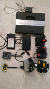 Atari 7800 console with 88 games for the 2600 and 7800
