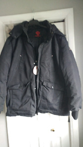 Men's wintet jackets. Large and extra lg