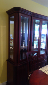 China Cabinet - cherry wood