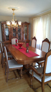 Classic, traditional dining room set