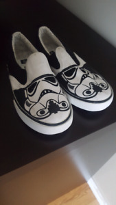 Star wars slip on shoes