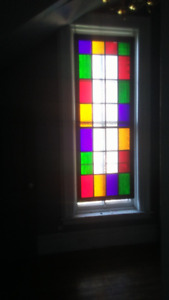 Hanging Coloured Window
