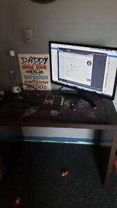 Gaming PC set up