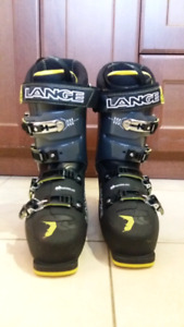 Lange XC80 Mens Ski Boots, Size 9, Almost New