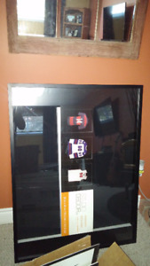 Large Shadow box to fit jersey 30 x 40